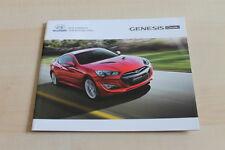 129049) Hyundai Genesis Coupe Prospekt 08/2012