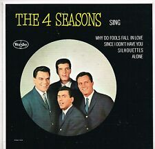 4 FOUR SEASONS sing U.S. VEE-JAY E.P.1 102_orig 1962 MINT like new