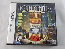 Hotel Giant DS (Nintendo DS, 2008) COMPLETE