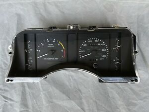 90-93 Mustang LOW MILES 140 MPH Instrument Cluster Speedometer 5.0 1990-1993 D
