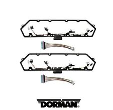 Dorman PAIR Engine Valve Cover Gasket For Powerstroke 7.3L Diesel