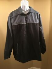 Climate concepts shell jacket Large Grey/ Black wind breaker