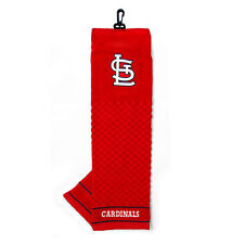 St Louis Cardinals Tri-Fold Golf Bag Towel - Officially Licensed Course Club