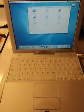 Apple iBook M6497 Vintage Laptop with Power Cord Tested Works
