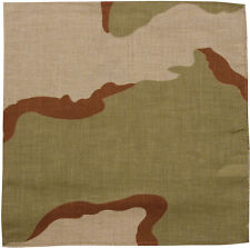 "Camouflage Digital Military Cotton Army Camo Biker Bandanas 22"" x 22"""