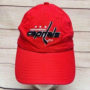 Washington Capitals NHL New Era Adjustable Strapback Hat Cap Red Cotton