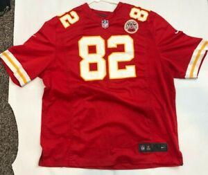 Nike Kansas City Chiefs #82 Dwayne Bowe Red Game On Field Jersey Size XL