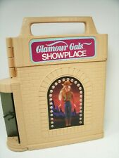 Kenner Glamour Gals Case and 9 Glamour Gals Dolls and One Golden Girl