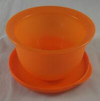 Tupperware J 45 Junge Welle 550 ml Schüssel Dose mit Deckel Orange Neu