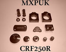 CRF250 2012 brillant Kit mxpuk Rouge Anodisé alliage pièces Pack 2011 (623)