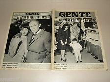 GENTE 1962/46=REZA CIRO PAHLAVI=ANTONIO BALDINI=PONTEY=RENATA MAURO=VERDIRAME=