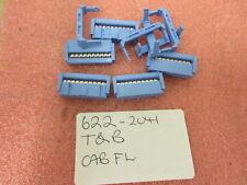 20 conector de cinta de contactos IDC/IDT Skt 20 pos 2.54mm T&b Tyco 622-2041 x10