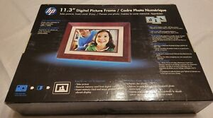 """Brand New HP Digital Picture Frame 11.3"""" with Built in Speaker & Remote Sealed"""