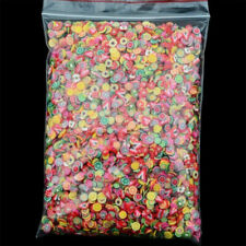 1000PCS 3D Cute Animal/Fruit/Flower Nail Art Fimo Cane Polymer Clay Decals DIY..