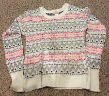 Girls Long Sleeve Sweater Size Large