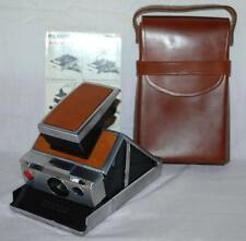 Vintage Polaroid SX-70 Land Camera With Original Leather Case manual ~102