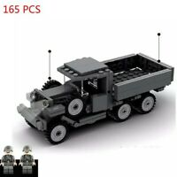 Lego ww2 Opel Blitz military Truck compatible WWII war Vehicule + 2 soldiers