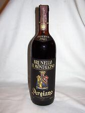 BRUNELLO di MONTALCINO RISERVA 1981 NUMERATO_D.O.C._ARGIANO SRL_MONTALCINO SIENA