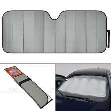 Foldable Jumbo Car Window Cover Sun Shade Auto Visor - Gray Foil Relfective