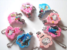 1pcs New Cartoon Kitty Baby Nail Cutter Clippers Manicure Pedicure Keychain UK