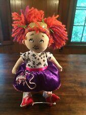 "FANCY NANCY Plush Doll 15"" Madame Alexander Toys R Us Poodle Skirt"