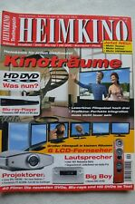 Home Cinema 4/08, DENON AVC a1hd, KEF Reference 203.2, Audio Pro MONDIAL serie M, audio