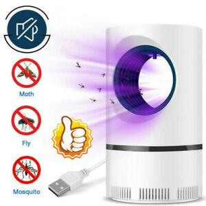 Electric Insect Killer Zapper UV Light Fly Bug Trap Pest Control USB Lamp 2021