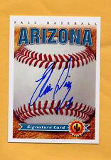 2014 Arizona Fall League AUTO card ELIAS DIAZ Pirates