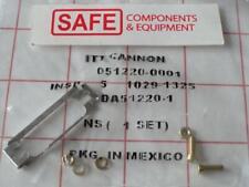 AMP DA-51220-1 D-Sub Screw Slide Lock QTY-2 Shell Size A 4-40 ITT Cannon MM-596
