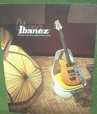 Ibanez 2003 Electric Guitar, Bass, Amplifier & Effects Catalog