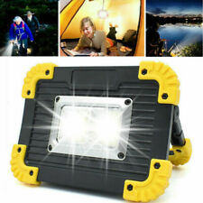 Portable Led Rechargeable Cordless Work Light Outdoor Camping Lamp Floodlight Us