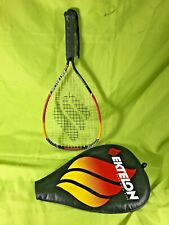 Ektelon O5 Red & Yellow Titanium Smash Racquetball Racquet Racket w/ Case
