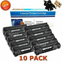 10 Pack CE278A High Yield Bk Toner for HP 78A LaserJet Pro P1606DN M1536DNF MFP