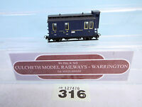 EGGER BAHN '009/HOe' THE BLUE TRAIN /PASSENGER CAR #316