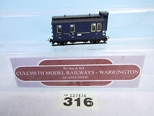 EGGER BAHN '009/HOe' THE BLUE TRAIN /PASSENGER CAR #316