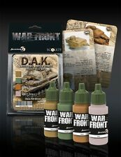 Scale 75 War Front German Afrika Korps AFV Colours Acrylic Paint Set 4 Bottles