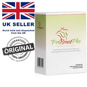 ProBreast Plus - Natural Breast Enlarger Cream and Food Supplement