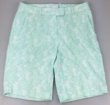 "Lady Hagen Missy Golf 10"" Shorts Women's Size 10 Tiled Calypso Mint Icy Green"