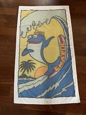 Rare Vintage 70s StarKist Charlie the Tuna Beach Towel Dundee Mills Promo Vtg
