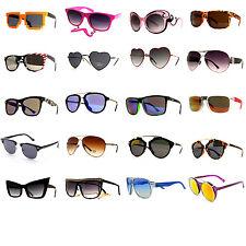 50 Pair Women Fashion Desinger Retro Vintage UV 100% Wholesale Lots Sunglasses