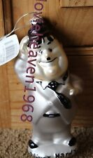 VINTAGE LAUREL AND OLIVER HARDY CHRISTMAS ORNAMENT LARRY HARMON PICT