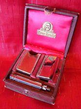 Vintage - 1920s - Ever-Ready - Travel Razor - Original Case - Extra Blade - L@@K