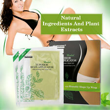 NEW IT WORKS (4) Body Wraps Ultimate Applicators Tone Tighten Firm Neutriherbs
