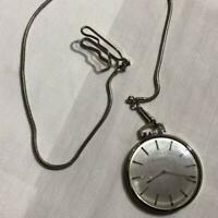 GIRARD PERREGAUX Hand Winding Pocket Watch Vintage Rare Operation inspected