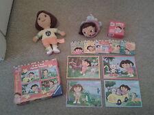 Dora The Explorer Boots-Doux Peluche/Sac à main/Jigsaw Puzzles livres/ensemble/lot