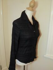 laura ashley black  shirt  embroidered style   10  nwt  $149