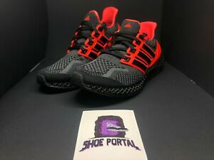 Adidas Ultra 4D 5.0 Running Shoes Solar Red Black G58159 Men's Multi Size
