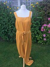 BNWT Dorothy Perkins Size 18 Mustard Yellow Jumpsuit