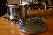 Vintage Revere Ware 1801 Copper Clad 4 Qt Stainless Pressure Canner Cooker