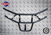 Black Heavy Duty Bumper Brush Guard for EZGO RXV Golf Cart Model